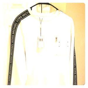 Michael Kors Sleeved Logo Shirt